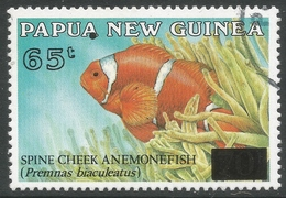 Papua New Guinea. 1994 Surcharges. 65t On 70t Used. SG738 - Papua New Guinea