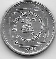 Népal - 10 Paisa  - 1972 - Aluminium - Nepal