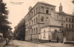 BELGIQUE - LUXEMBOURG - VIRTON - Ecole Normale De L'Etat (Entrée). - Virton