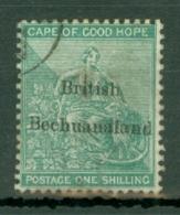 Bechuanaland: 1885/87   Hope 'British Bechuanaland' OVPT   SG8   1/-     Used - Bechuanaland (...-1966)