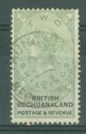 Bechuanaland: 1888   QV   SG16   2/-    Used - Bechuanaland (...-1966)