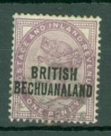 Bechuanaland: 1891/1904   QV 'British Bechuanaland' OVPT   SG33   1d   Used - Bechuanaland (...-1966)