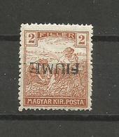 FIUME ITALY HUNGARY 1918-19 - RARE - Fiume