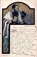 ! Litho Sign. Wilhelm Wachtel, Judaika, JUDAISME, Lwow, Juden, Jewish Religion, Warszawa, Warschau, Poland - Polen