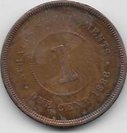 Malacca - 1 Cent - 1888 - Otros – Asia