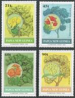 Papua New Guinea. 1992 Flowering Trees. MNH Complete  Set. SG 675-678 - Papua New Guinea