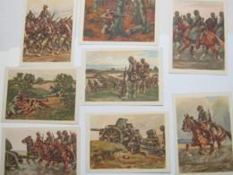Propagandakarten Serie HEER ,  Serie Von 8 Karten Im Heft ( Dieses Gestützt), Karten Tadellose Erhaltung - Briefe U. Dokumente
