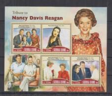 A93. Sierra Leone - MNH - 2016 - Famous People - Nancy Davis Reagan - Célébrités