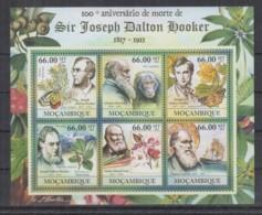 A93. Mozambique - MNH - 2011 - Famous People - Joseph Dalton Hooker - Célébrités