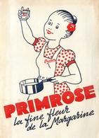Buvard Ancien MARGARINE PRIMROSE - Produits Laitiers