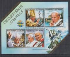 B93. Niger - MNH - 2014 - Famous People - Pope John Paul II - Célébrités