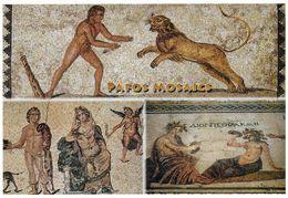 1 AK Zypern Cyprus * Bodenmosaik Aus Einer Ca. 2000 Jahre Alten Villa Bei Paphos - Seit 1980 UNESCO Weltkulturerbe * - Zypern