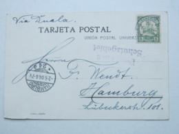 KAMERUN , Ansichtskarte Mit Seepoststempel Hamburg - Westafrika  1904, Deutsches Schutzgebiet - Kolonie: Kamerun