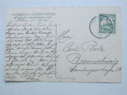 KAMERUN , Ansichtskarte Mit Stempel Akonobinga  1908 - Kolonie: Kamerun