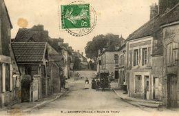 - LEUGNY (89) - Route De Toucy  (animée, Carrosse)  -12065- - Sonstige Gemeinden