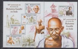 D93. Niger - MNH - 2015 - Famous People - Mahatma Gandhi - Célébrités