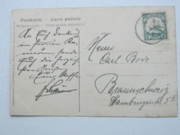 KAMERUN , Ansichtskarte Mit Stempel KRIBI  1907,  Polizeitruppe - Kolonie: Kamerun