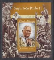 E93. S.Tome E Principe - MNH - 2016 - Famous People - Pope John Paul II - Bl - Célébrités