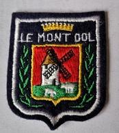 Ecusson MONT DOL 35 Ille Et Vilaine Souvenir Tissu - Patches