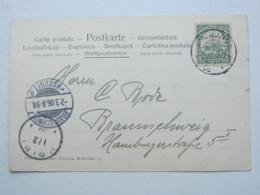 KAMERUN , Ansichtskarte Mit Stempel KRIBI  1906 - Kolonie: Kamerun