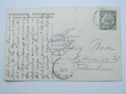 KAMERUN , Ansichtskarte Mit Stempel JAUNDE 1906 - Kolonie: Kamerun
