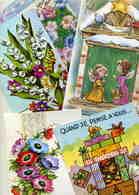 LOT  N° 379  / LOT DE 41 CPM   THEME  Cartes POP HOP DIVERS FORMATS - Postcards