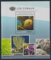 H93. Guinea - MNH - 2014 - Nature - Marine Life - Coral Reefs - Bl. - Briefmarken