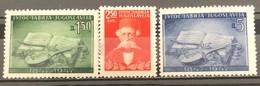 Yugoslavia, 1947, Mi: 533/35 (MNH) - Nuovi