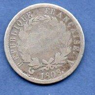 Napoléon I Er --  2 Francs 1808 A  -  état  B - I. 2 Franchi