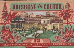 Brisbane In Colour - Folder W 12 Views - Brisbane