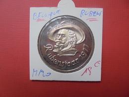 """Baudouin 1er.1977 ARGENT""""ANNEE RUBENS"""" MORIN N° M/20 - 1951-1993: Baudouin I"""