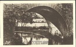 CPA VIEUX-VILLE  Bomal S/Ourthe Le Pont De La Lambrée   Pension Barette - Durbuy