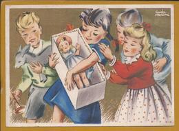 Clarin. Klarinette. Musik. Rare Postal Christmas Stationery. Christmas Toys. Dumb. Postkarte Weihnachtsbriefpapier. Esel - Muziek