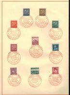 Böhmen Und Mähren CSSR Gedenkblätter 1937-1939 In A4 Eins Vierseitig 20.4.39 - Occupation 1938-45