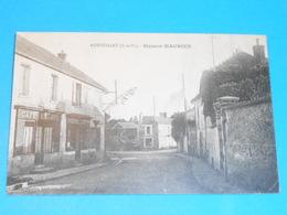 """78 ) Autouillet - Maison Maurice """" Café - Billard - épicerie - Mércerie - Année 1925 - EDIT- Maurice - France"""