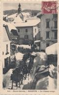 CPA - France - (74) Haute Savoie - Megève - Le Chasse-neige - Megève