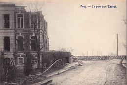 Pecq: Pont Sur L, Escaut. - Pecq