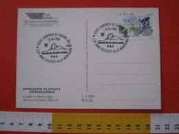 A.06 ITALIA ANNULLO - 1999 AURONZO DI CADORE BELLUNO CAI CLUB ALPINO ITALIANO 125 ANNI MONTAGNA MONTAIN DISPACCIO PIEVE - Altri