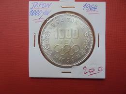 JAPON 1000 YEN ARGENT 1964  FDC !!! - Japan