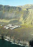 1 AK Insel Jan Mayen * Olonkinbyen - Einzige Siedlung Mit Wetterstation, Militärposten Und D. Mannschaft Der Sendeanlage - Norvège