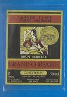 BISTROT - ETIQUETTE DE RHUM AGRICOLE - GRAND CORSAIRE - STE ROSE - REIMONENQ - GUADELOUPE - - Unclassified