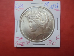 U.S.A 1$ 1923 ARGENT. TOP QUALITE !!! - Federal Issues