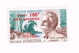 Docteur Schweitzer MNH,Neuf Sans Charnière,Falzlos. PA 11 - Gabon (1960-...)