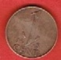 NETHERLANDS #  1 CENT FROM 1948 - [ 3] 1815-… : Kingdom Of The Netherlands