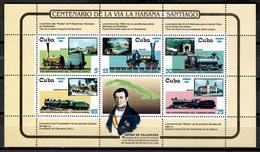 Cuba 2002 / Trains Railways MNH Trenes Züge / Cu11136  C5 - Trenes