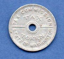 USA  -  Washinton -  Tax Token  -  état  TB+ - Other