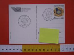 A.06 ITALIA ANNULLO - 1997 USSEGLIO TORINO 1^ SAGRA DELLA TOMA FORMAGGI LOCALI CIBO ALIMENTAZIONE FOOD MONTAGNA MONTAIN - Alimentazione