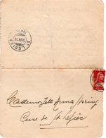 29 IV 1920  Brief Von Chextres Nach St Legier Vevey - Covers & Documents