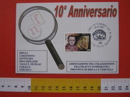 A.06 ITALIA ANNULLO - 1998 PETTINENGO BIELLA SAGRA DELLA CASTAGNA CALDARROSTA PRO VAGLIO - Alimentazione
