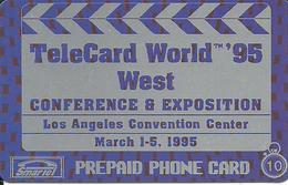 USA: Smartel - TeleCard World '95 Exposition Los Angeles - Vereinigte Staaten